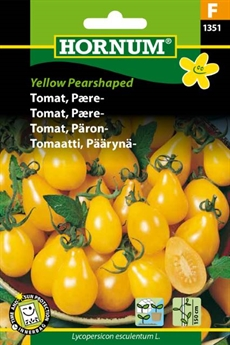 Tomat - Yellow Pearshaped
