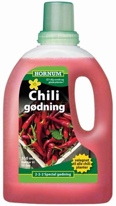Chili gødning - 350 ml